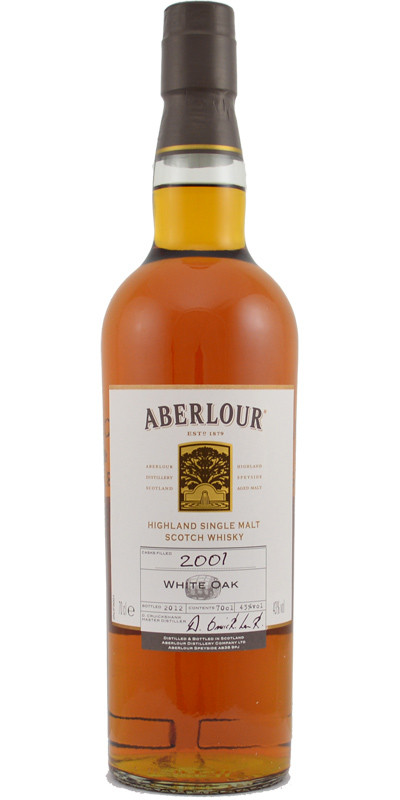 Whisky Aberlour White Oak 2001 (43º)