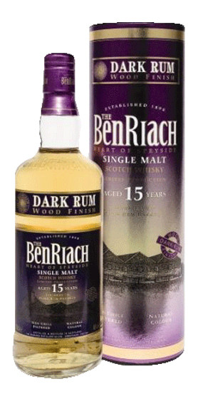 Whisky Benriach 15 Years Dark Rum Finish (46º)