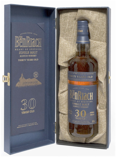 Whisky Benriach 30 Years (50º)