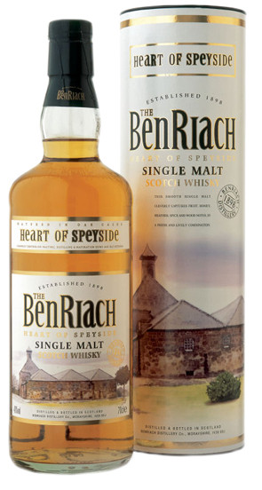 Whisky Benriach Heart of Speyside (40º)