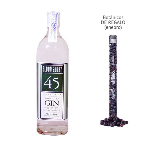Bloomsbury Original London Dry Gin (45º) + regalo