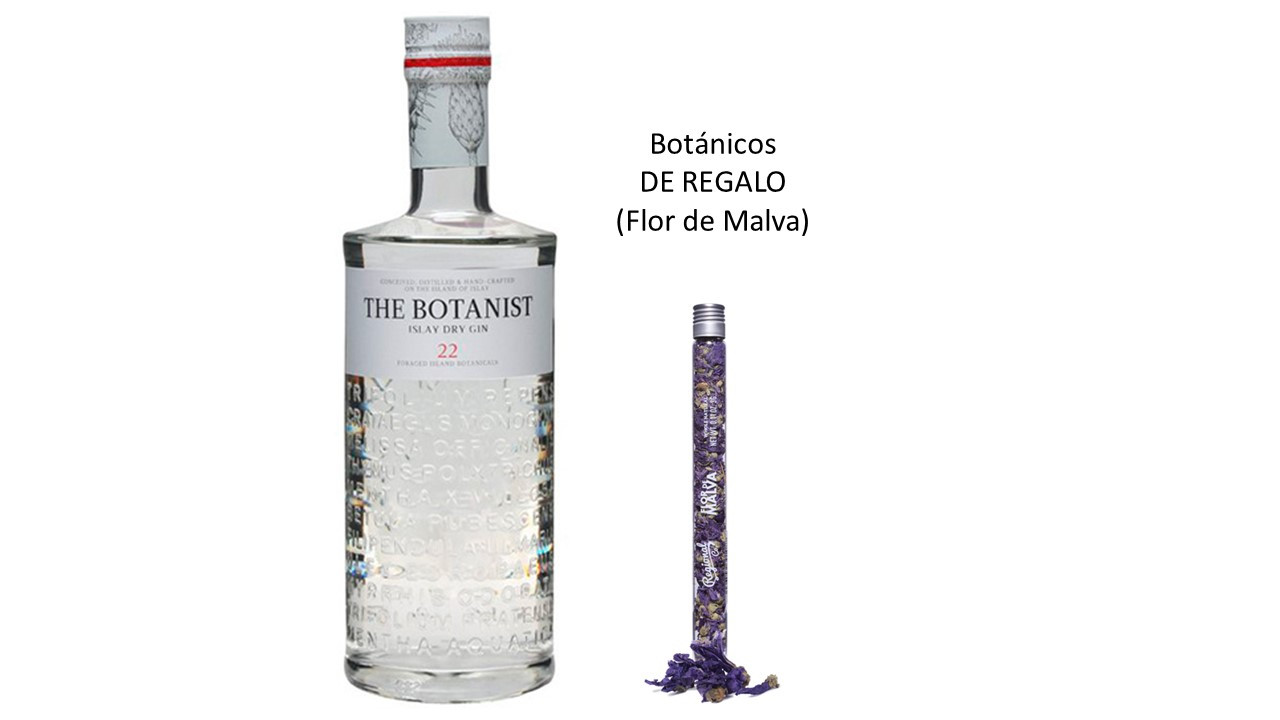 The Botanist Islay Dry Gin (46º) + regalo