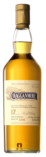 Whisky Cragganmore 17 Years Cask Strength (55,5º)