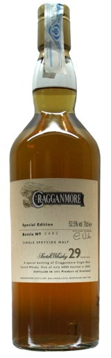 Whisky Cragganmore 29 Years (52,5º)