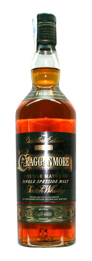 Whisky Cragganmore Distiller's Edition (40º)