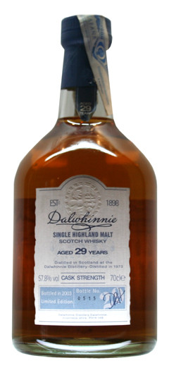 Whisky Dalwhinnie 29 Years Cask Strenght (52,5º)