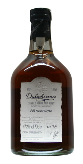 Whisky Dalwhinnie 36 Years Cask Strenght (47,2º)