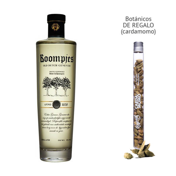 Gin Boompjes Old Dutch Genever (38º) + regalo