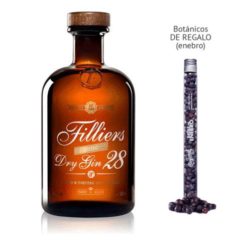 Gin Filliers 28 Small Batch (46º) + regalo