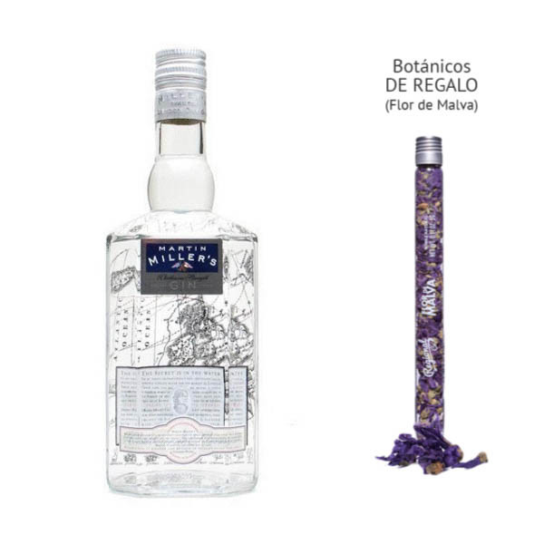 Gin Martin Miller's Westbourne Strength (45,2º) + regalo