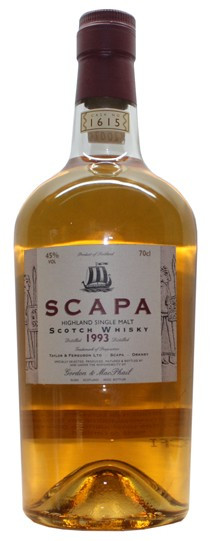 Whisky Gordon & Macphail - Single Casks Scapa Vintage 1993 (45º)