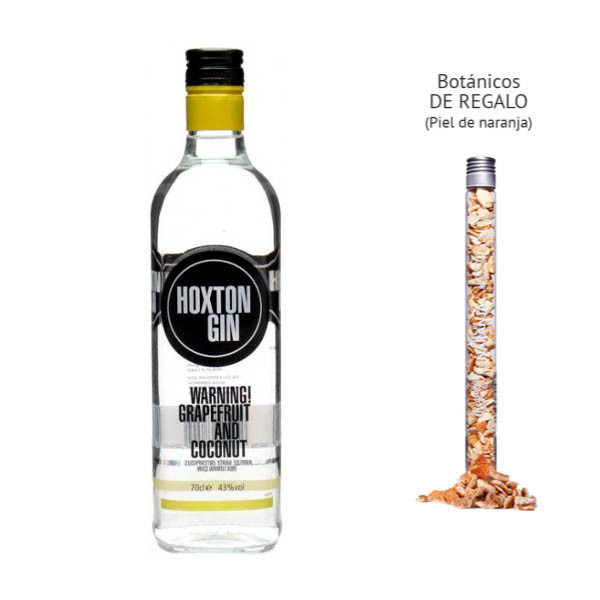 Hoxton Grapefruit and Coconut Gin (43º) + regalo