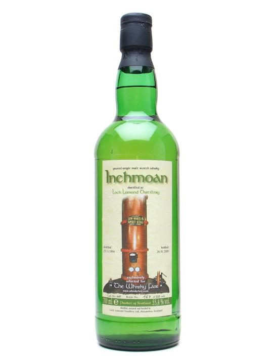 Inchmoan Single Malt (55,4º)