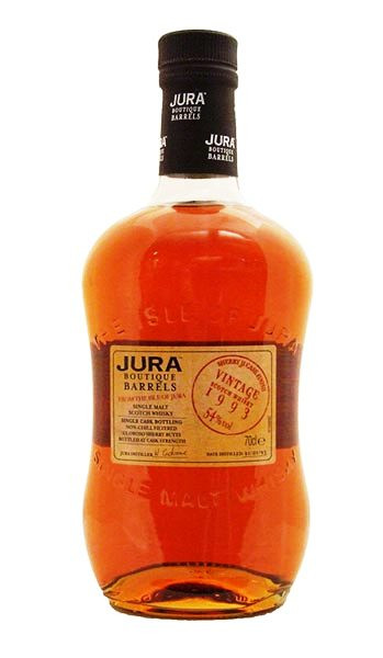 Whisky Isle of Jura Vintage 1993 Sherry (54º)