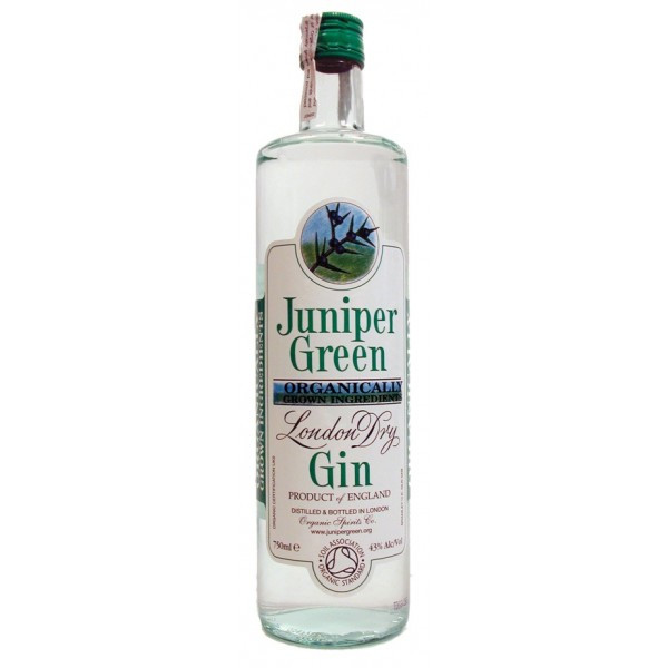 Juniper Green Organic London Gin (37,5º)
