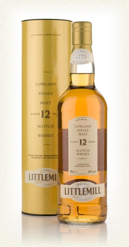 Whisky Littlemill 12 Years (40º)