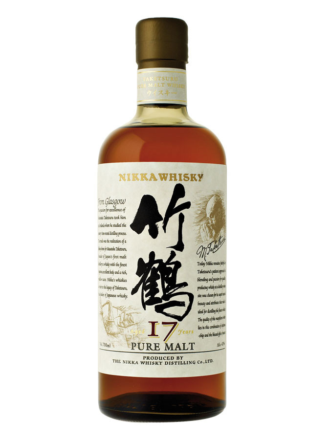 Nikka Taketsuru 17 Years (45º)