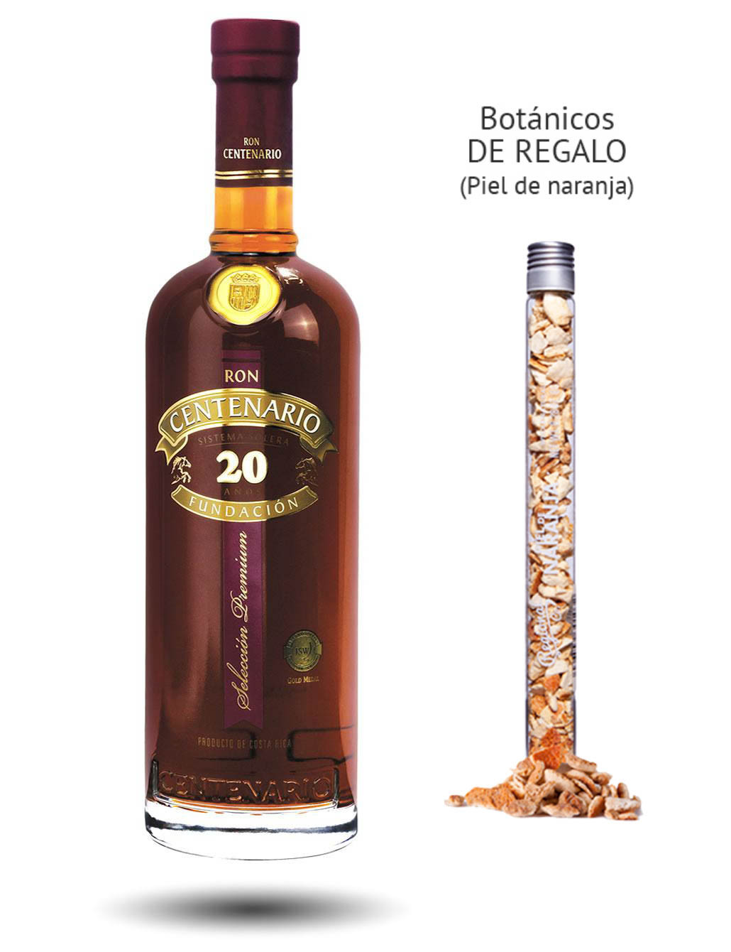 Ron Centenario 20 Years (40º) + regalo