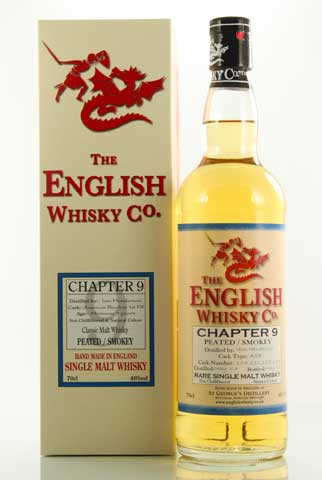 The English Whisky Co. Chapter 9 Single Malt (46º)
