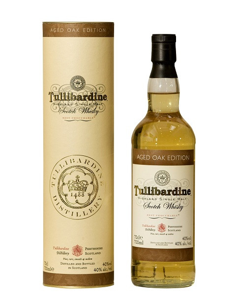 Whisky Tullibardine Aged Oak Edition (40º)