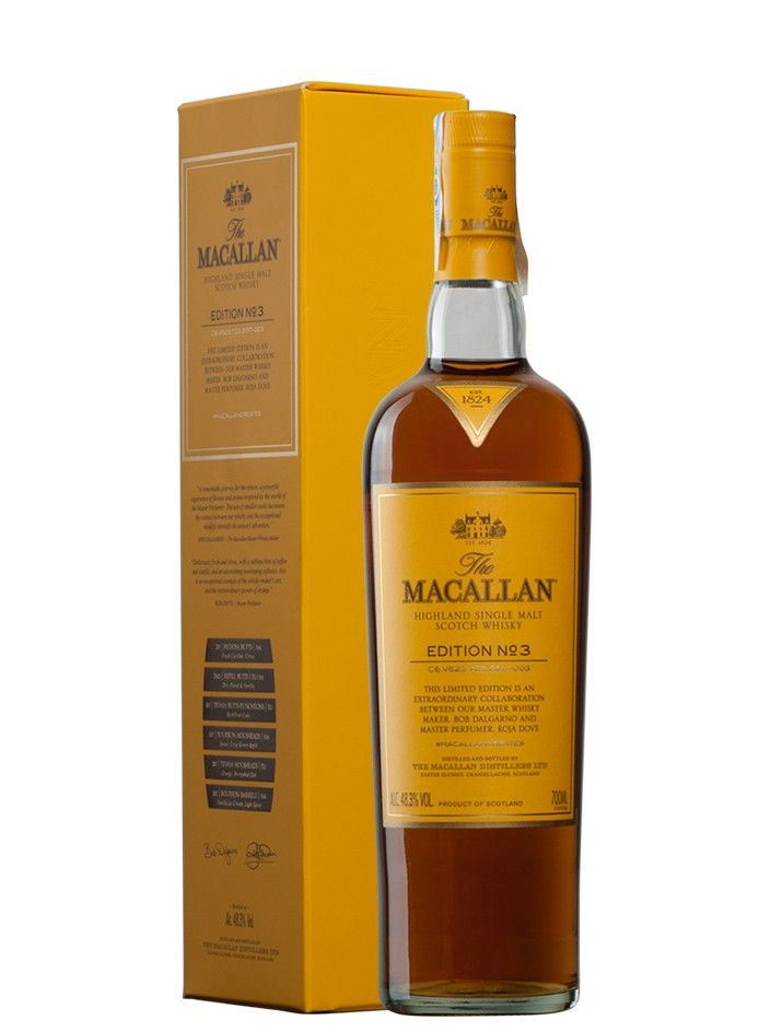 Whisky Macallan Edition Nº3