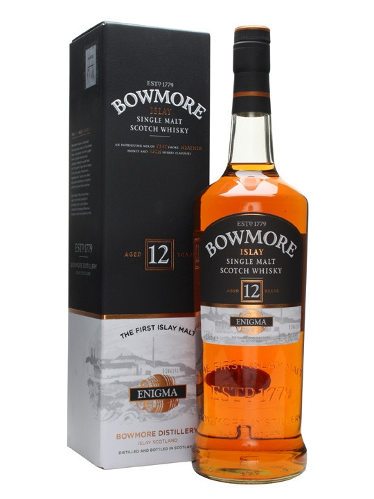 Whisky Bowmore 12 Years Enigma (40º)