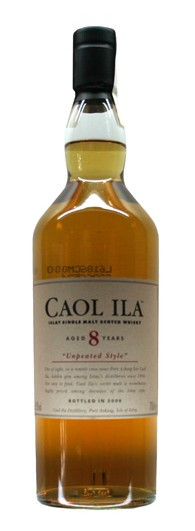 Whisky Caol Ila 8 Years Unpeated Cask Strenght (59,80º)