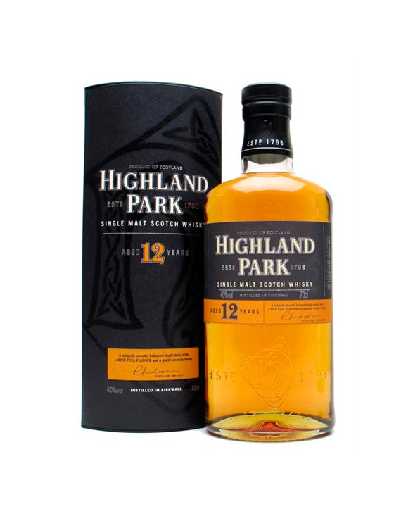 Whisky Highland Park 12 Years (40º)