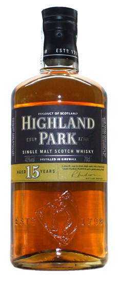 Whisky Highland Park 15 Years (40º)