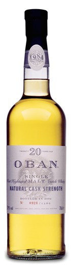 Whisky Oban 20 Years Natural Cask Strenght (57,9º)