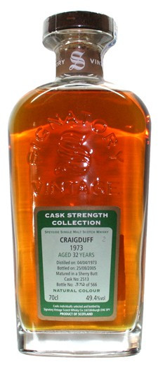 Whisky Signatory Vintage - Cask Strenght Collection Craigduff 32 Years (49,4º)